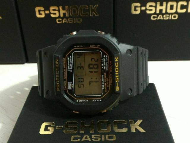 Temos vários modelos g-shock