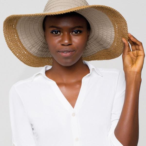 Chapéu uv com proteção solar sardenha