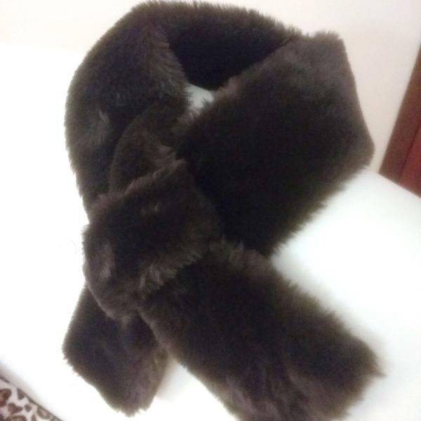 Gola de pelo