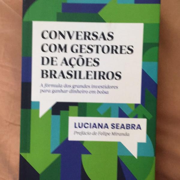 Livro conversas com gestores de ações brasileiros