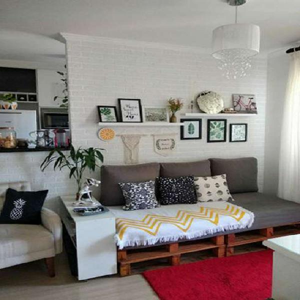 Apartamento 2 dorms reformado e c móveis planejados em