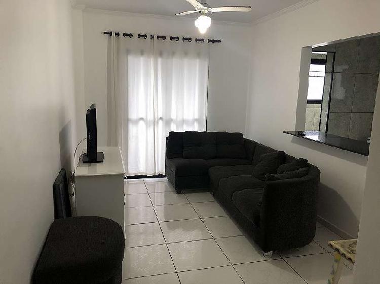 Apartamento com 2 quartos em ocian - praia grande - próximo