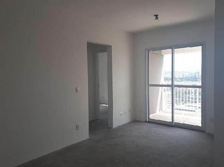 Apartamento novo de 51m com 2 dorms e 1 vaga de garagem na