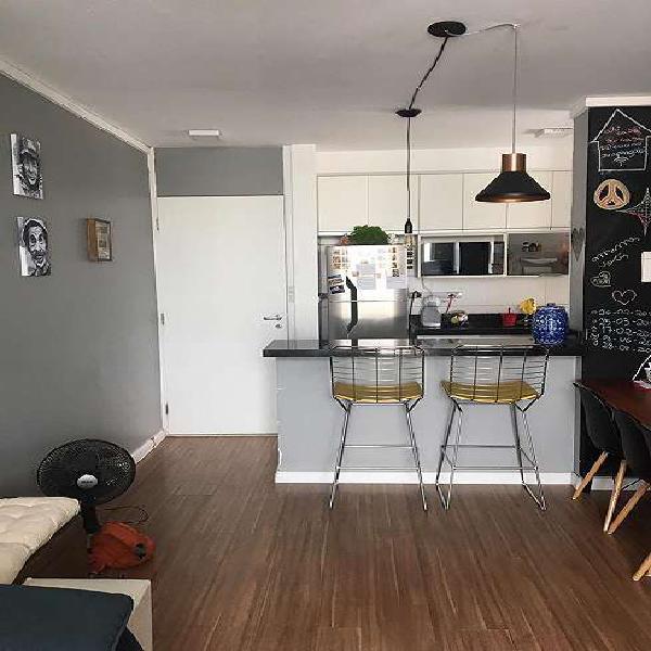 Apartamento para venda com 62 metros quadrados com 2 quartos