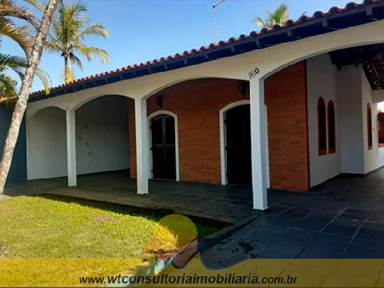 Casa 2 dormitórios - suíte - 400m da praia - jardim