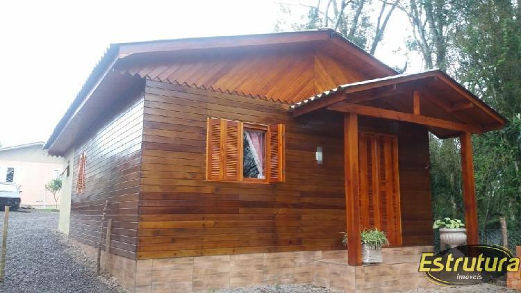 Casa à venda no parque serrano - itaara, rs. im77984