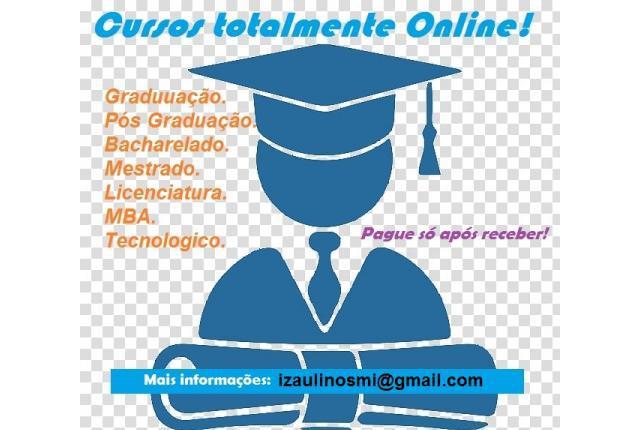 Diplomas de graduação online - pague após recebimento