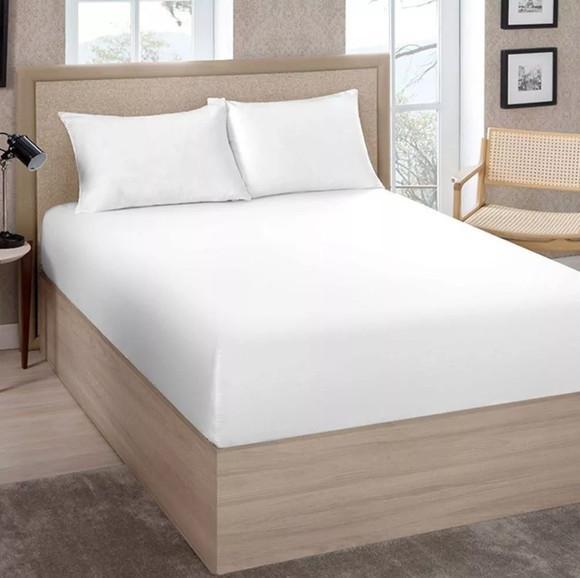 Kit 10 lençóis avulso com elástico casal cama box 30cm.