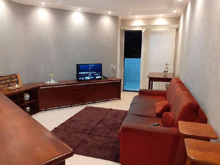 Lindo apartamento para venda possui 72 metros quadrados com