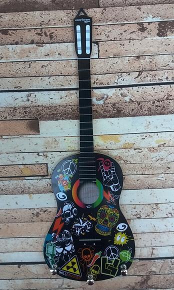 Porta chaves violão