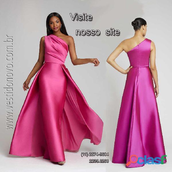 Vestido pink, para arrasar na sua festa