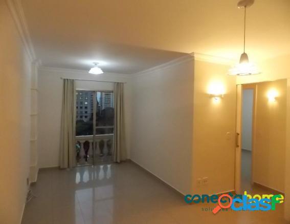 Apartamento de 70 m², dormitórios e 1 vaga na vila olímpia