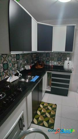 Apartamento de 50 m², 2 dormitórios, 1 vaga, na vila livieiro