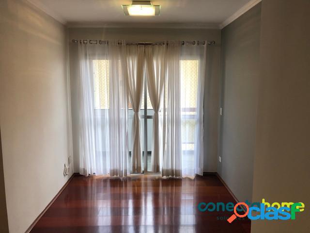 Apartamento de 60 m², 2 dormitórios e 1 vaga na vila olímpia