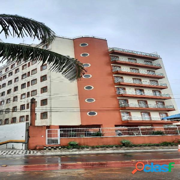 Apartamento 1 dorm em edifício frente ao mar - elevador - vila atlântica
