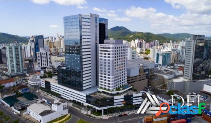 Absolute business & hotel - itajaí - locação comercial- corporativa