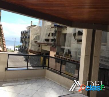 Temporada- itapema - vista mar - 3 quartos - churrasqueira - ar - 30m praia