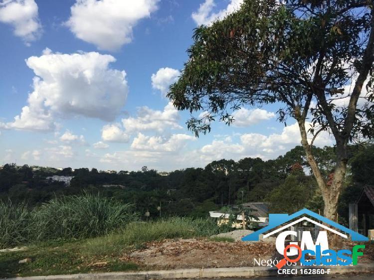 Terreno no cond palos verdes 650 m2 vista panorâmica, projeto aprovado