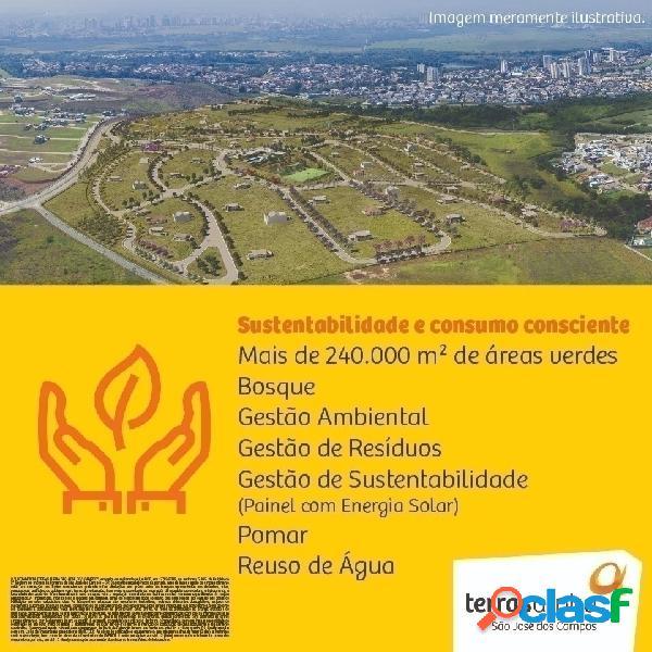 Terreno terras alpha urbanova sjc à partir de 330 m² sjcampos alphaville