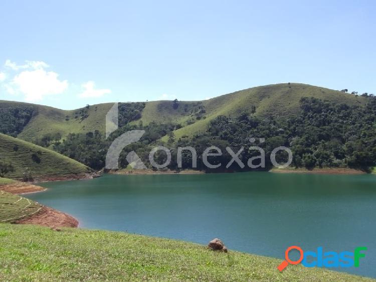 Fazenda de 38 alqueires à venda em paraibuna/sp com vista para represa