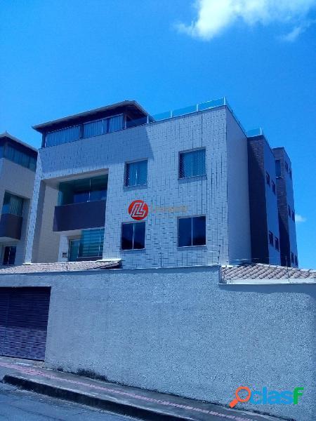 Apartamento área privativa 3 quartos com suíte no bairro santa amélia