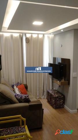 Apartamento guarulhos no spazio santa bárbara 45 m² 2 dorms 1 vaga gopoúva