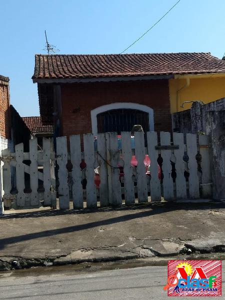 Casa 2dormitorios locação e venda em mongaguá a 550mts da praia na mendes