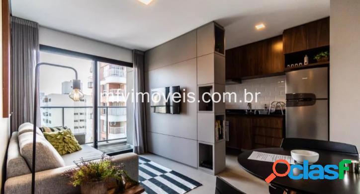 Apartamento mobiliado e moderno para aluguel em pinheiros