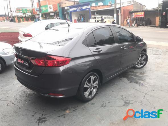 Honda city sedan lx 1.5 flex 16v 4p aut. cinza 2016 1.5 gasolina e alcool