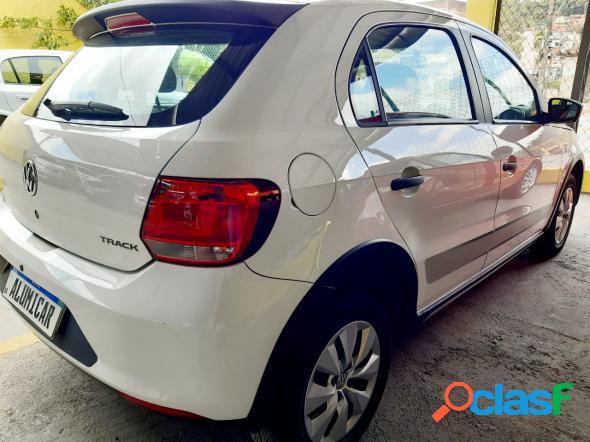 Volkswagen gol track 1.0 mi total flex 8v 4p branco 2014 1.0 flex