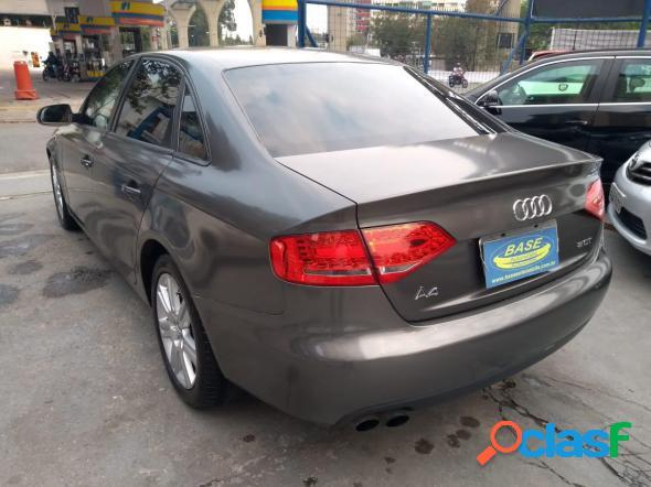 Audi a4 2.0 16v tfsi 183180cv multitronic prata 2010 2.0 t gasolina