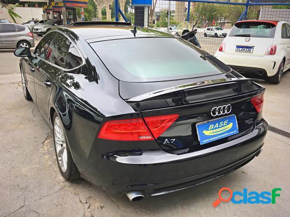 Audi a7 sportback 3.0 tfsi quattro s tronic preto 2011 3.0 v6 t gasolina