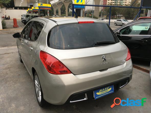 Peugeot 308 allure 2.0 flex 16v 5p aut. prata 2013 2.0 16v flex