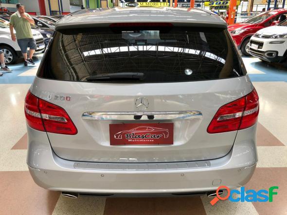 Mercedes-benz classe b 200 cgi 1.6 tb sport 156cv aut prata 2014 1.6 gasolina