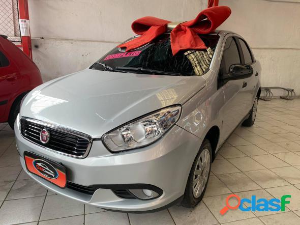 Fiat grand siena attractive 1.0 flex 8v 4p prata 2019 1.0 flex