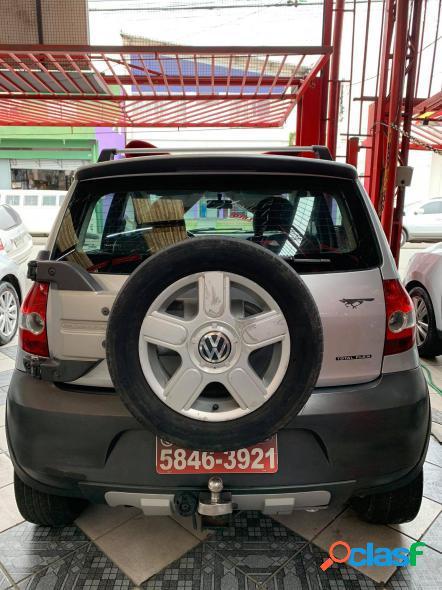 Volkswagen crossfox 1.6 mi total flex 8v 5p prata 2006 1.6 flex