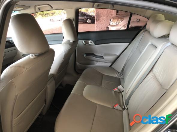 Honda civic sedan lxr 2.0 flexone 16v aut. 4p preto 2015 2.0 gasolina