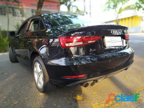 Audi a3 sedan 1.4 tfsi flex tiptronic 4p preto 2018 1.4 flex