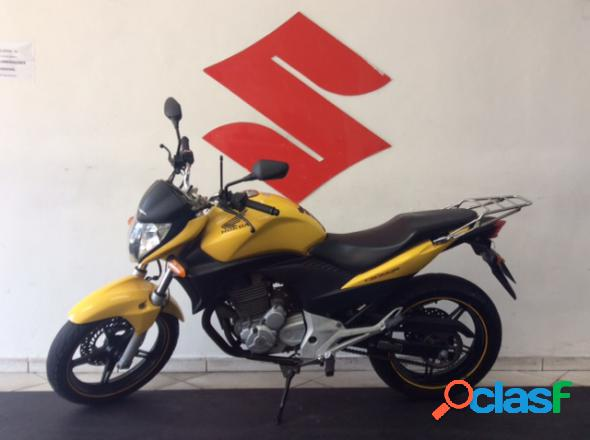 Honda cb 300r amarelo 2012 300 gasolina