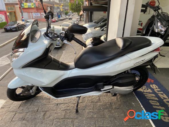Honda pcx 150 branco 2014 150 gasolina