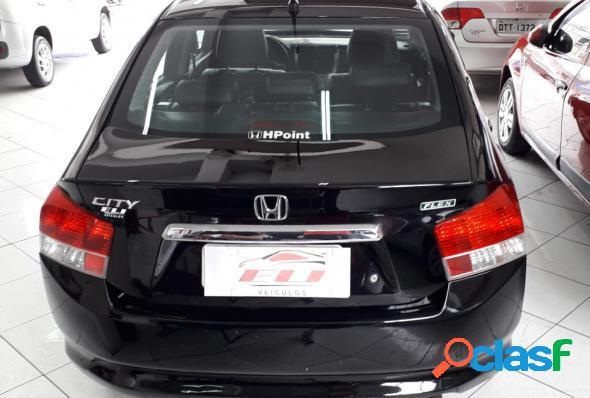 Honda city sedan dx 1.5 flex 16v aut. preto 2011 1.5 flex