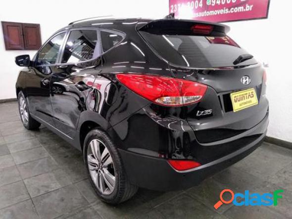 Hyundai ix35 2.0 16v 2wd flex aut. preto 2017 2.0 flex