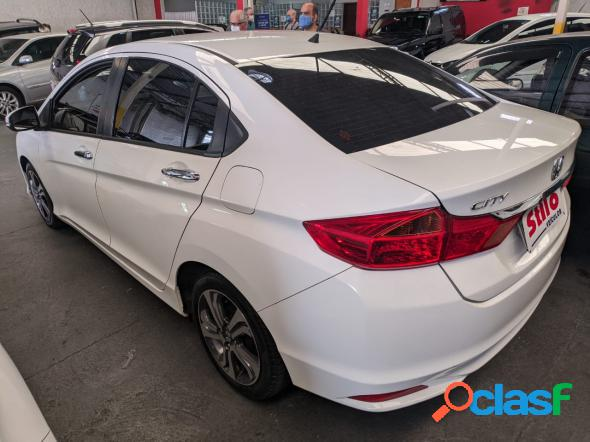 Honda city sedan ex 1.5 flex 16v 4p aut. branco 2015 1.5 flex
