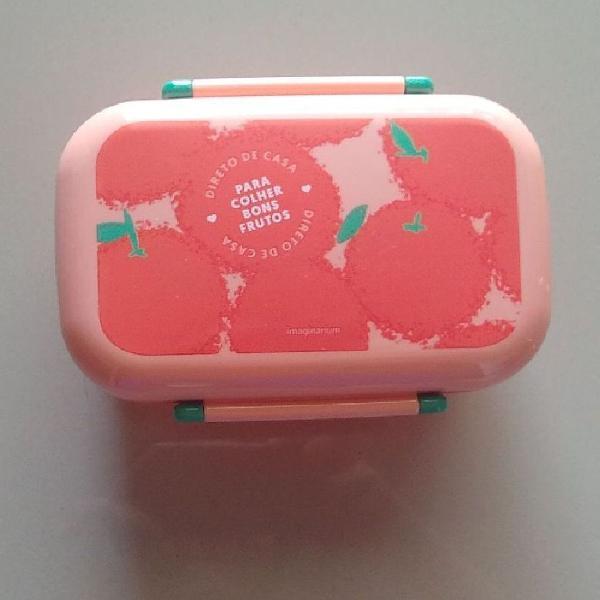 Box marmitinha rosa imaginarium