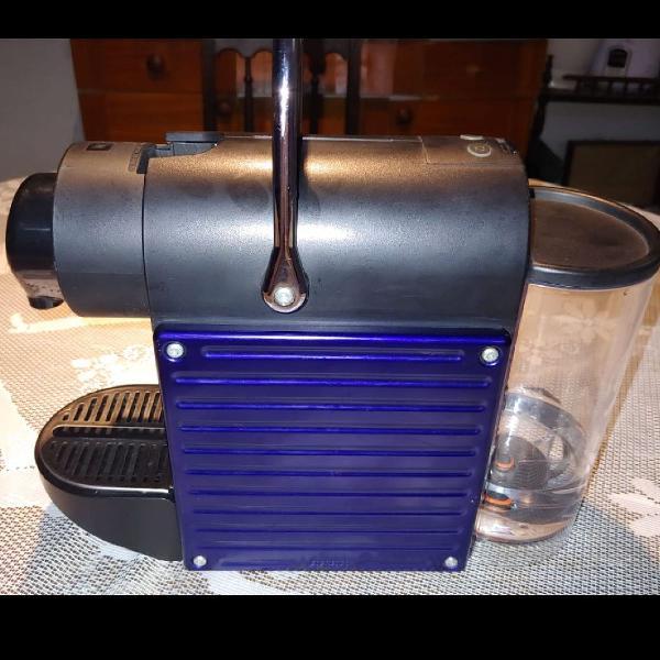 Cafeteira pixie c60 eletric 110v azul royal nespresso