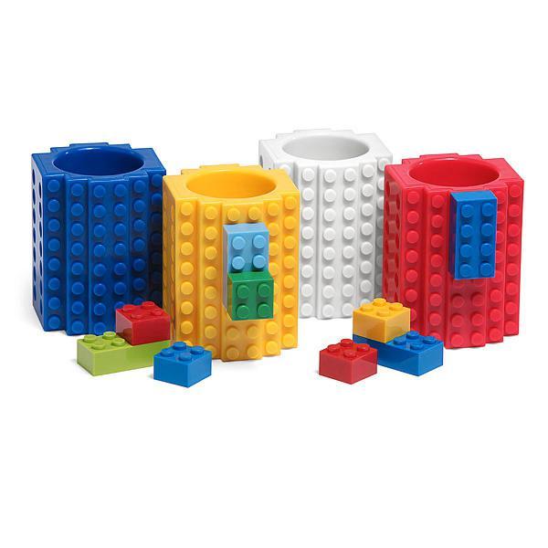 Copo de shot - lego blocos de montar