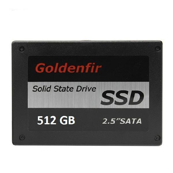Hd ssd 512gb goldenfir para notebook pc ps4