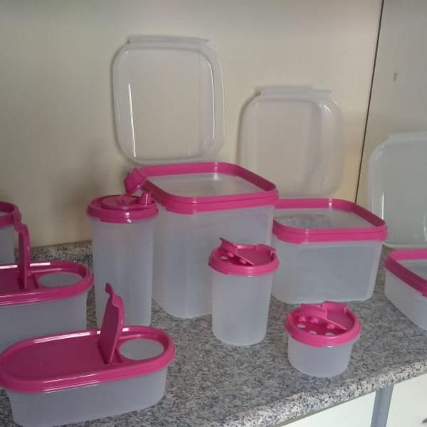 Kit tupperware 10 peças