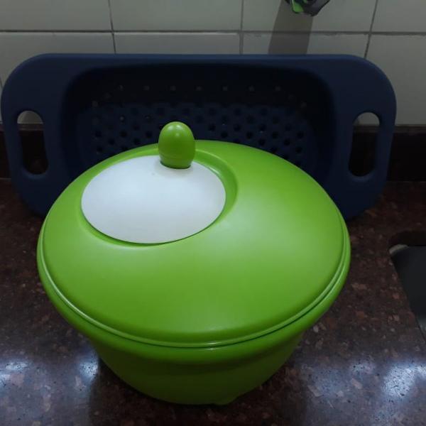Kit cozinha - centrífuga e escorredor