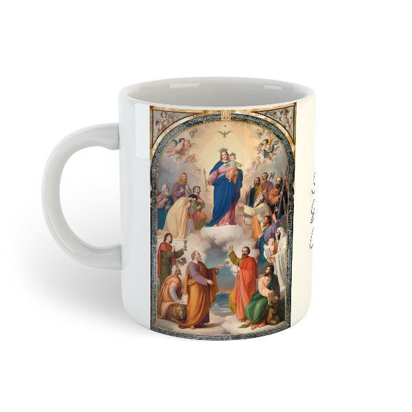 Nossa senhora auxiliadora | caneca de porcelana